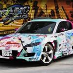 レーシングミクRX8フロント