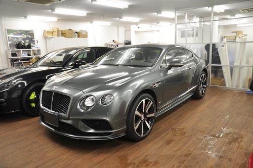 BentleyコンチネンタルGTフルラッピング