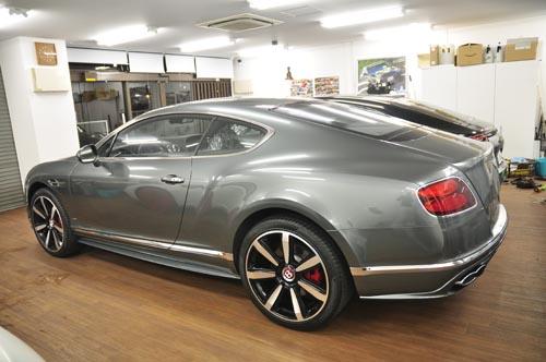 BentleyコンチネンタルGTフルラッピング2